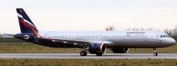 1:200 JC Wings Aeroflot Airbus Industries A321-200 VP-BPP