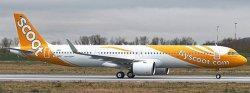 1:400 JC Wings Scoot Airbus Industries A321-200 9V-TCA