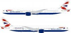 1:200 Inflight200 British Airways Boeing B 777-300 G-STBI ARDBA23