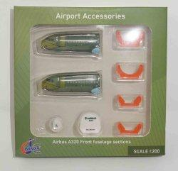 1:200 JC Wings Airport Accessories Airbus Industries A320-200 NA JCGSESETC