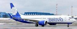 1:200 JC Wings Belavia Boeing B 737-8MAX EW-528PA LH2306
