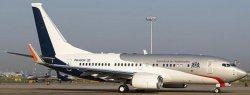 1:200 JC Wings Dutch Royal Flight Boeing B 737-700 PH-GOV LH2307A