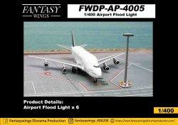 1:400 Fantasywings Airport Accessories NA Flood Light NA FWDP-AP-4005