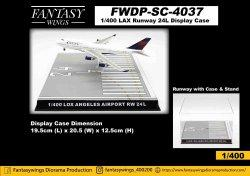 1:400 Fantasywings Airport Accessories NA Display Case NA FWDP-SC-4037