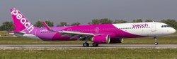 1:400 JC Wings Peach Airbus Industries A321-200 JA901P
