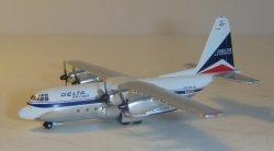1:400 Gemini Jets Delta Air Lines Lockheed Martin C-130 Hercules N9268R