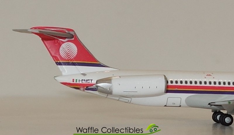 Italy McDonnell Douglas MD-80 GJISS1512 1//400 REG#I-SMET Gemini Jets Meridiana