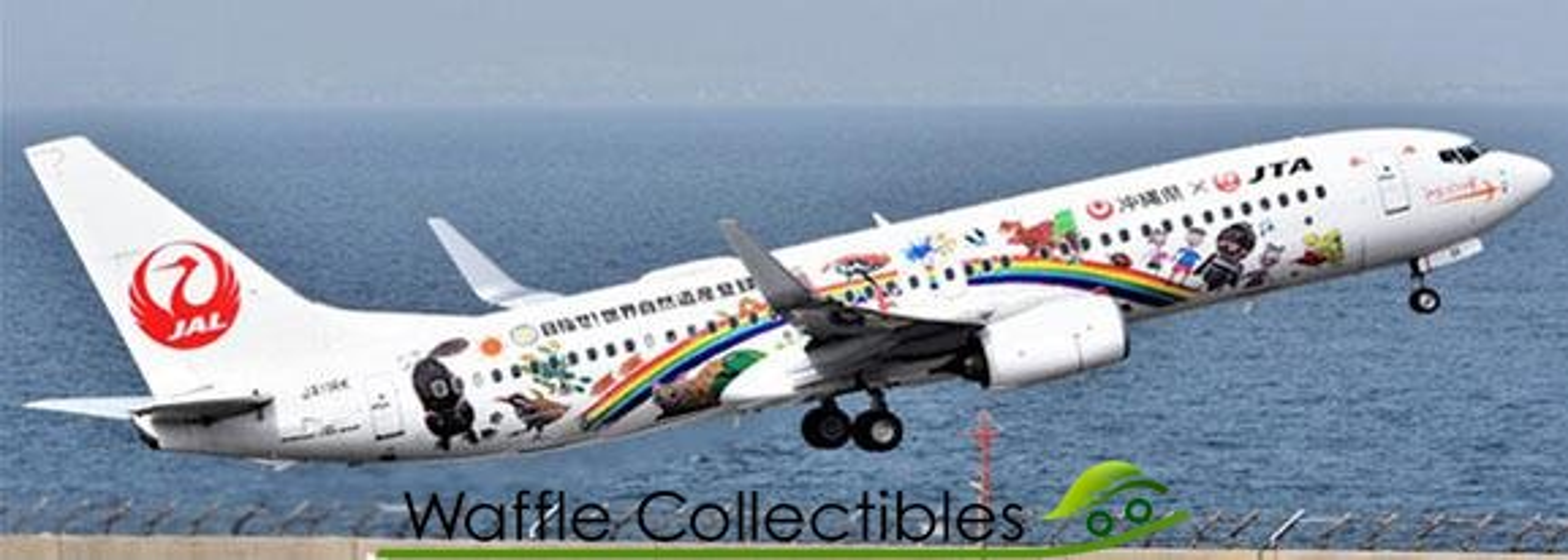 Details about  /JCWINGS EW2738001 1//200 B737-8 JAPAN TRANSOCEAN AIRLINES JA06RK SAKURA JINBEI