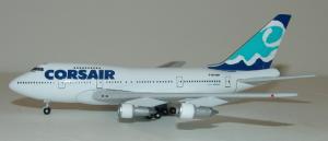 1:400 Gemini Jets Corsair Boeing B 747SP F-GTOM GJCRL063