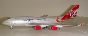 1:400 Gemini Jets Virgin Atlantic Airways Boeing B 747-400 G-VFAB