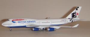 1:400 Gemini Jets British Airways Boeing B 747-400 G-BNLR GJBAW015B