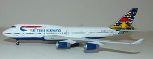 1:400 Gemini Jets British Airways Boeing B 747-400 G-BNLO GJBAW016