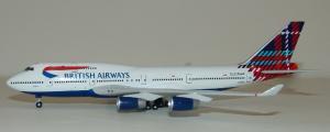 1:400 Gemini Jets British Airways Boeing B 747-400 G-CIVO GJBAW017