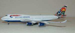 1:400 Gemini Jets British Airways Boeing B 747-400 G-BNLT GJBAW020