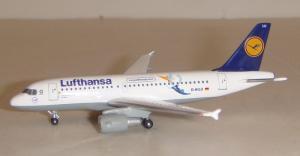 1:500 Herpa Lufthansa Airbus Industries A319-100 D-AILU