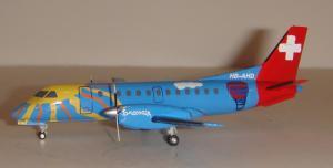1:200 Herpa Crossair Saab 340 HB-AHD