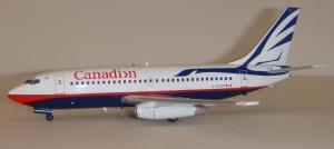 1:200 Inflight200 Canadian Airlines Boeing B 737-200 C-GCPP