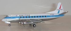 1:200 Herpa United Airlines Vickers Viscount N7408