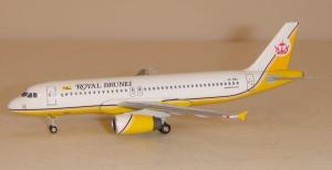 1:400 JC Wings Royal Brunei Airlines Airbus Industries A320-200 V8-RBS