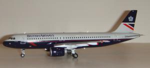 1:200 Gemini Jets British Airways Airbus Industries A320-100 G-BUSF G2BAW200
