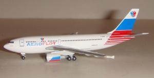 1:500 Herpa Aeroflot Airbus Industries A310-300 F-OGQR