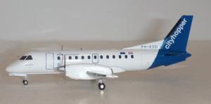1:200 Herpa KLM cityhopper Saab 340 PH-KSD