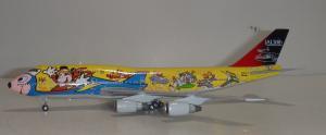 1:400 Phoenix Models JAL Japan Airlines Boeing B 747-400 JA8084 PH404013