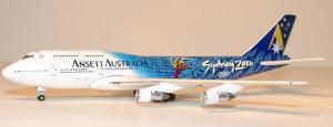 1:500 BigBird Ansett Australia Boeing B 747-300 VH-INJ BB5-2002-02