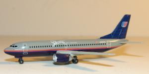 1:400 Dragon Wings United Airlines Boeing B 737-300 N384UA 55094