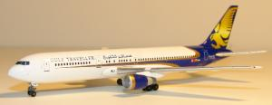 1:400 Phoenix Models Gulf Traveller Boeing B 767-300 A4O-GZ DJII0001