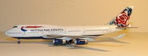 1:400 Gemini Jets British Asia Airways Boeing B 747-400 G-CIVB GJBAW021