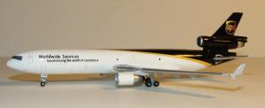 1:400 Gemini Jets United Parcel Service McDonnell Douglas MD-11 N270UP