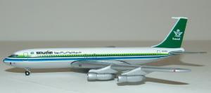 1:400 Gemini Jets Saudia Boeing B 707-300 HZ-ACG