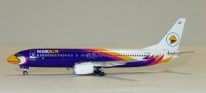 1:400 Phoenix Models Nok Air Boeing B 737-800 HS-DBC PH410780