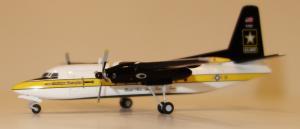 1:200 Herpa United States Army Fokker F-27 85-1607