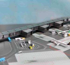 1:500 Herpa Airport Accessories NA Terminal NA 528283
