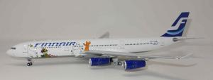 1:200 Inflight200 Finnair Airbus Industries A340-300 OH-LQC