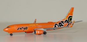 1:500 Herpa Mango Boeing B 737-800 ZS-SJO