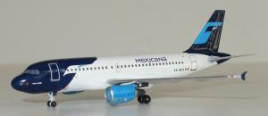 1:400 Aeroclassics Mexicana Airbus Industries A319-100 XA-NCA