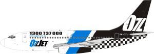 1:200 Inflight200 OzJet Boeing B 737-200 VH-OZU