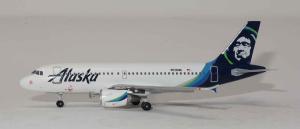 1:400 Aeroclassics Alaska Airlines Airbus Industries A319-100 N530VA