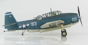 1:72 Hobby Master United States Navy Grumman TBF Avenger White 93