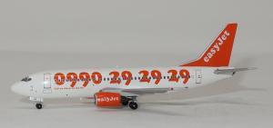 1:400 Panda Models EasyJet Boeing B 737-300 G-EZYA PM19027