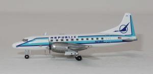 1:400 Gemini Jets Republic Airlines Convair CV-580 N2728R GJREP1407