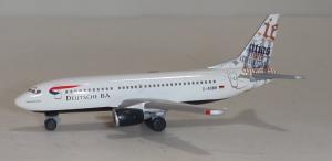 1:500 Herpa Deutsche BA Boeing B 737-300 D-ADBN 511513