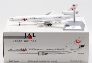 1:200 Inflight200 JAL Japan Airlines Douglas DC-10-40 JA8545 AV2010