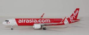 1:400 Phoenix Models AirAsia Airbus Industries A321-200 9M-VAB PH411629