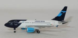 1:500 Herpa Mexicana Airbus Industries A318-100 XA-UBT 534772