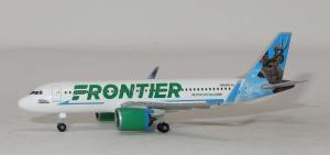1:500 Herpa Frontier Airlines Airbus Industries A320-200 N301FR