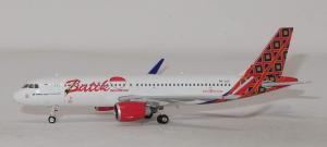 1:400 Phoenix Models Batik Air Airbus Industries A320-200 PK-LUT PH411655